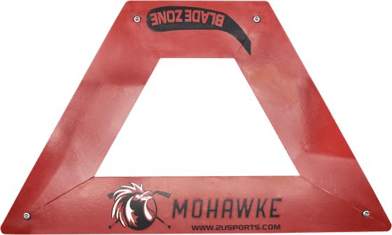 Mohawke Triangle Pro Passare Blade Zone Jääkiekkotarvikkeet RED (Sizes: No Size)