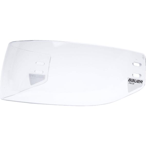 Bauer Pro Straight Ce Visor Jääkiekkosuojat CLEAR (Sizes: One size)