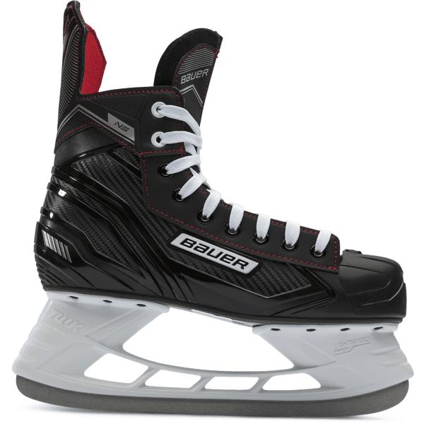 Bauer Ns Skate Sr Jääkiekkoluistimet BLACK R WIDTH (Sizes: 7)