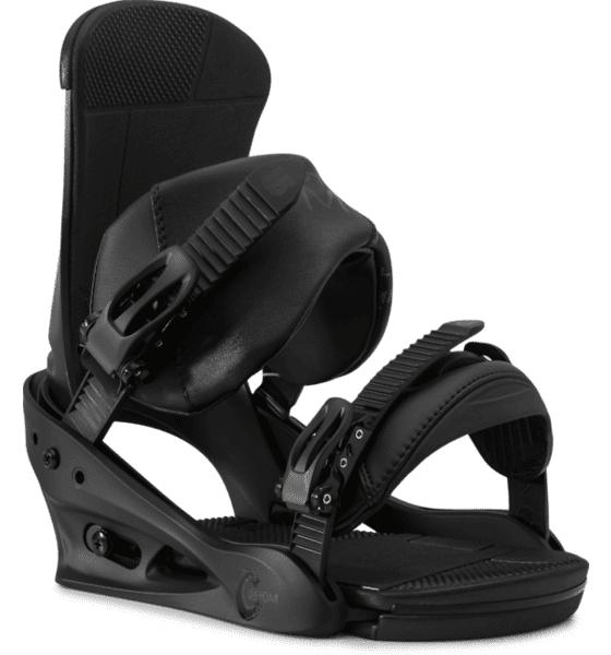 Burton Custom Re:flex Lumilautasiteet BLACK (Sizes: L)