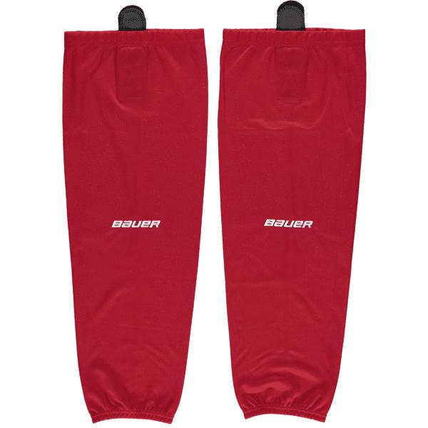 Image of Bauer Flex Stock Hockey Sock Sr Jääkiekkotarvikkeet RED (Sizes: S/M)