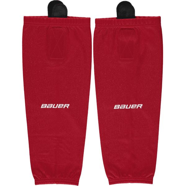 Image of Bauer Flex Stock Hockey Sock Yth Jääkiekkotarvikkeet RED (Sizes: S/M)