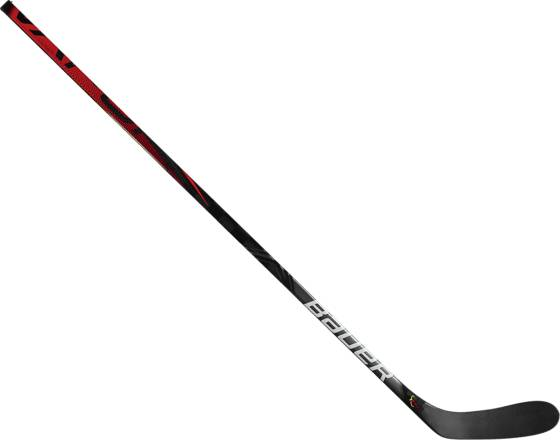 Bauer Vapor Flylite Grip Stick Int Jääkiekkomailat BLACK 55 FLEX (Sizes: L 28)
