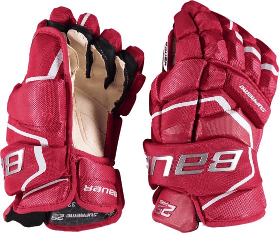 Bauer Supreme 2s Pro Glv Sr Jääkiekkosuojat RED (Sizes: 14)