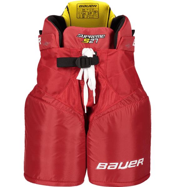 Bauer Supreme S27 Pt Jr Jääkiekkosuojat RED (Sizes: L)