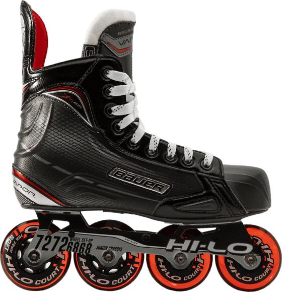 Bauer Rh Xr400 Skate Jr Rullaluistimet BLACK/RED (Sizes: 4)
