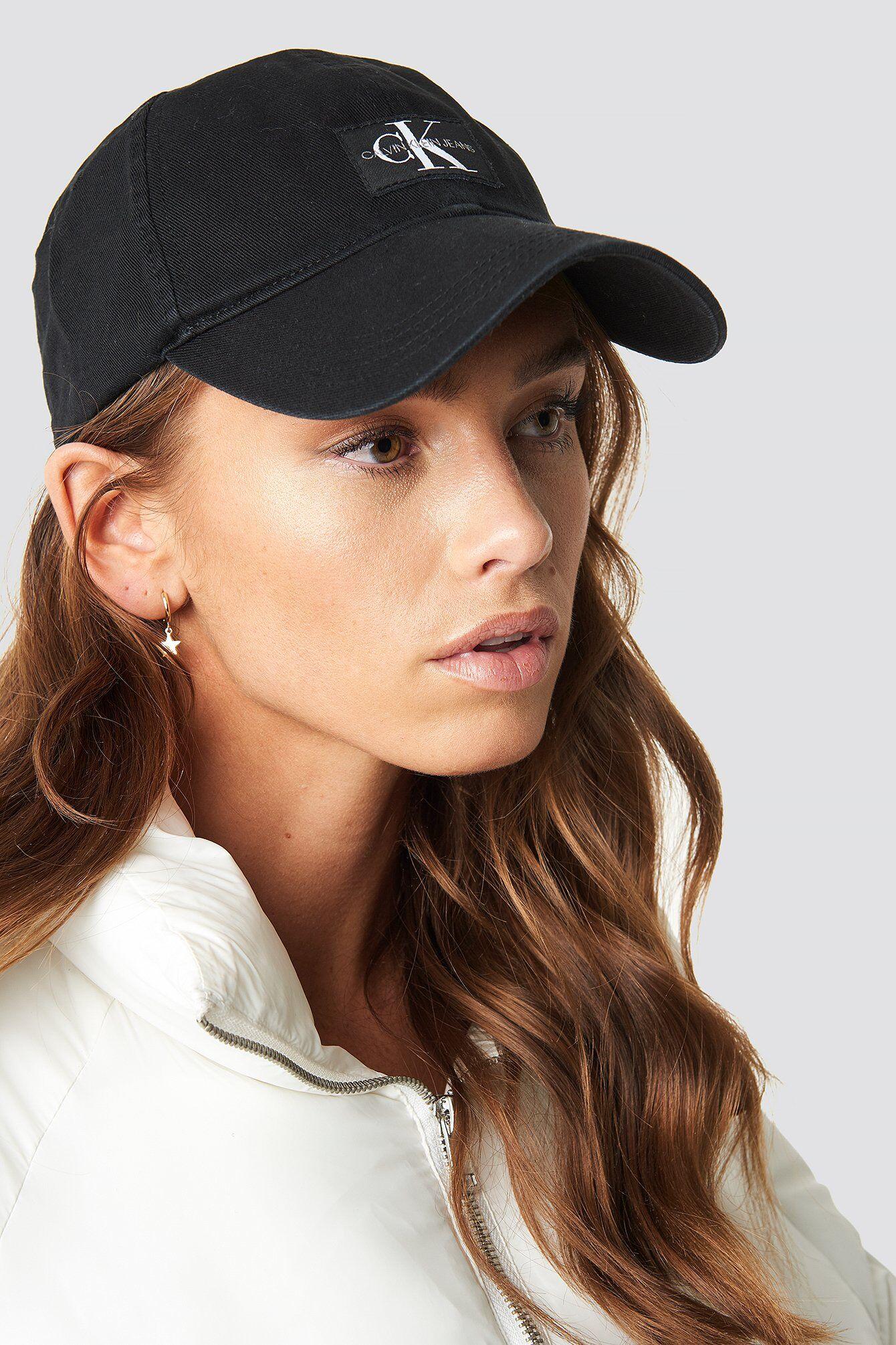 Calvin Klein J Monogram Cap W - Black