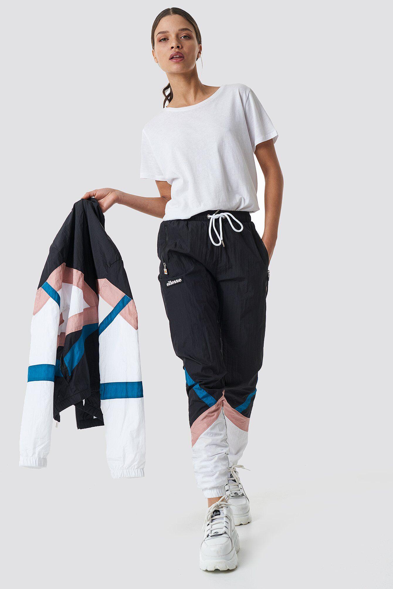 Ellesse El Marceria Pant - Black,Multicolor