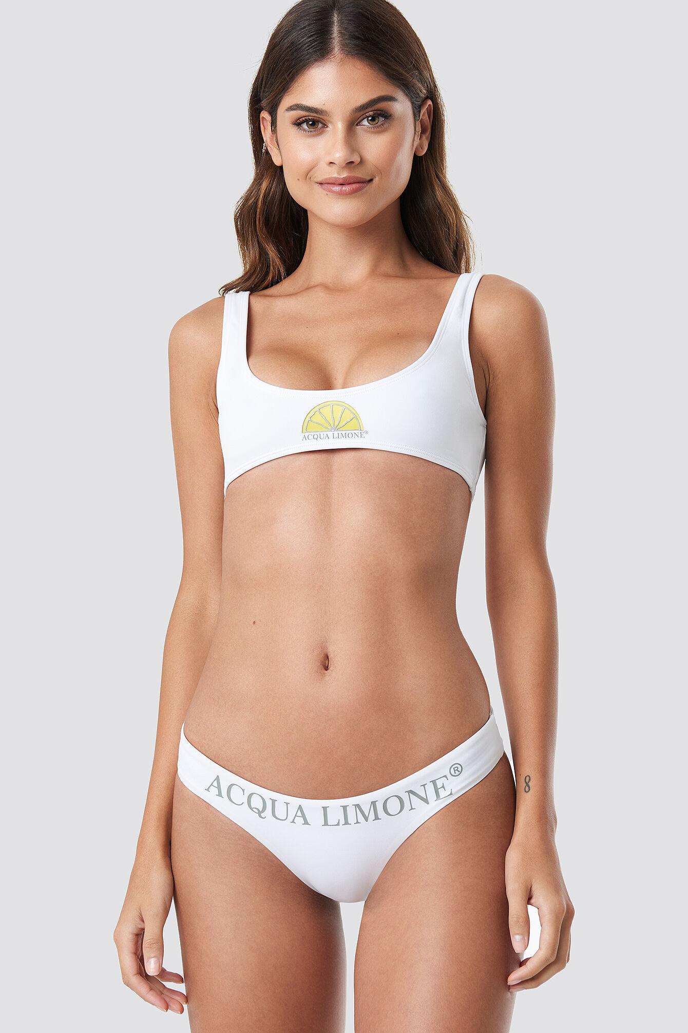 Acqua Limone Monaco Bikini Panties - White