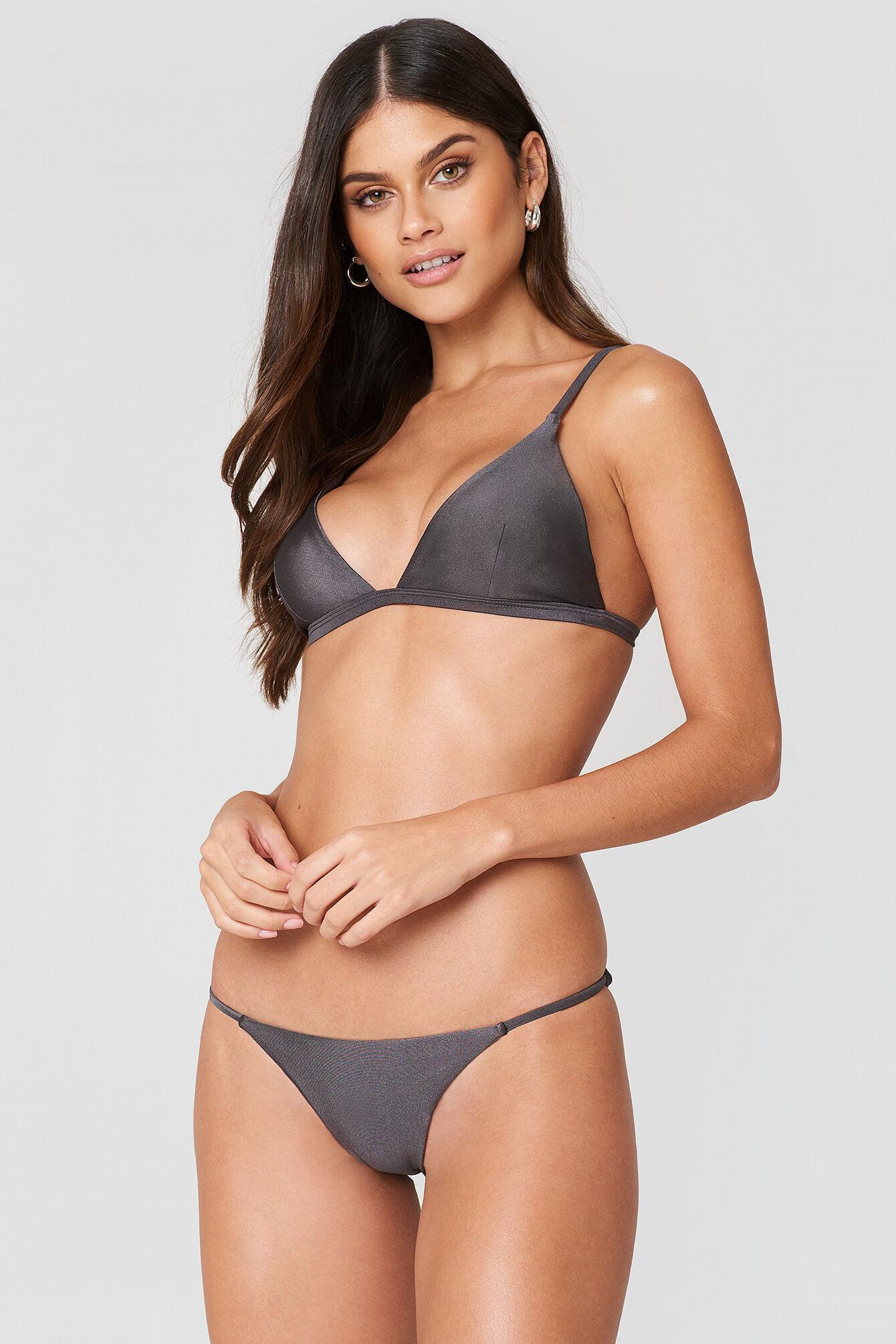 FAYT Kelvin Bikini Bottoms - Grey