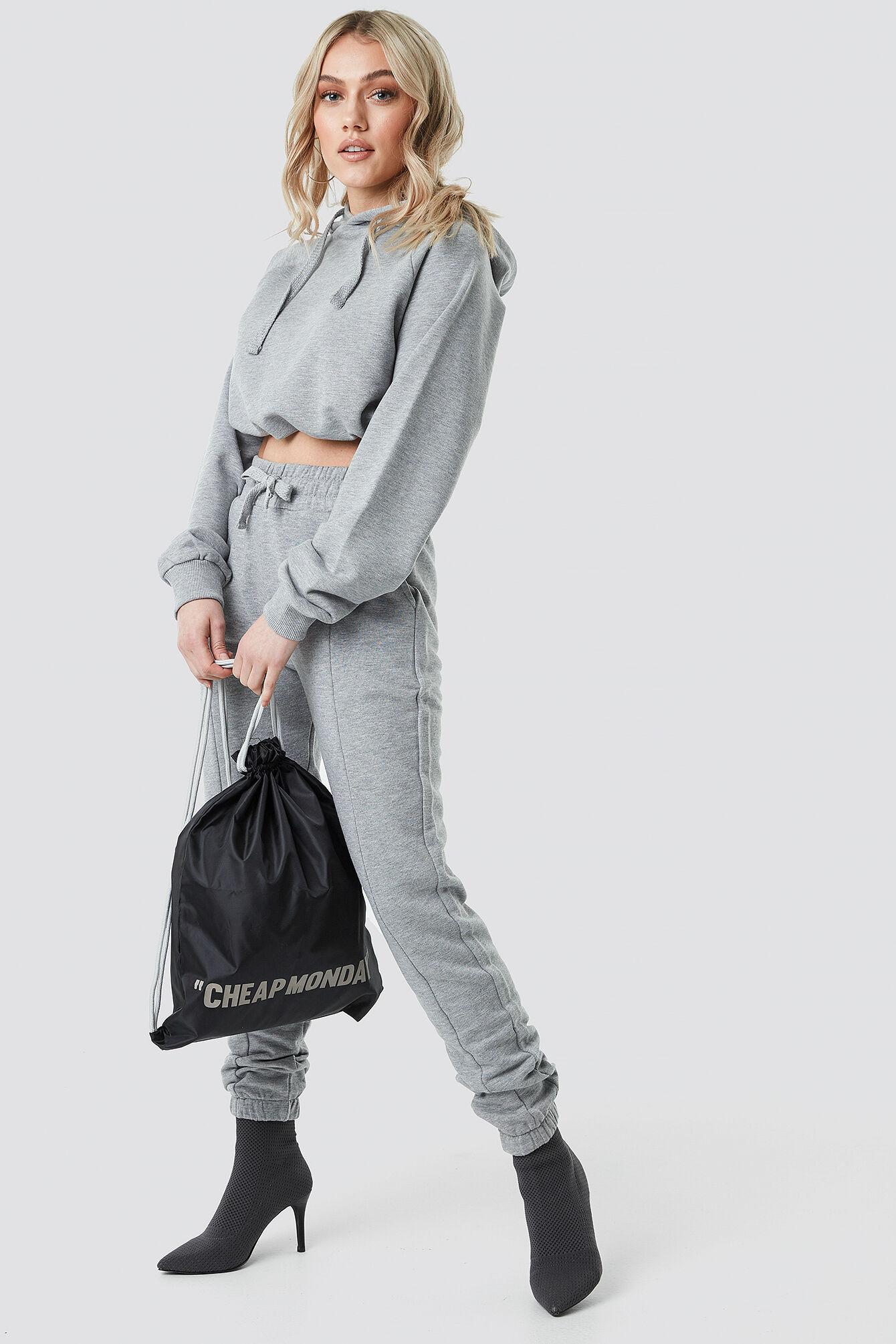 Cheap Monday Rapid Gym Bag Cheap Review - Black