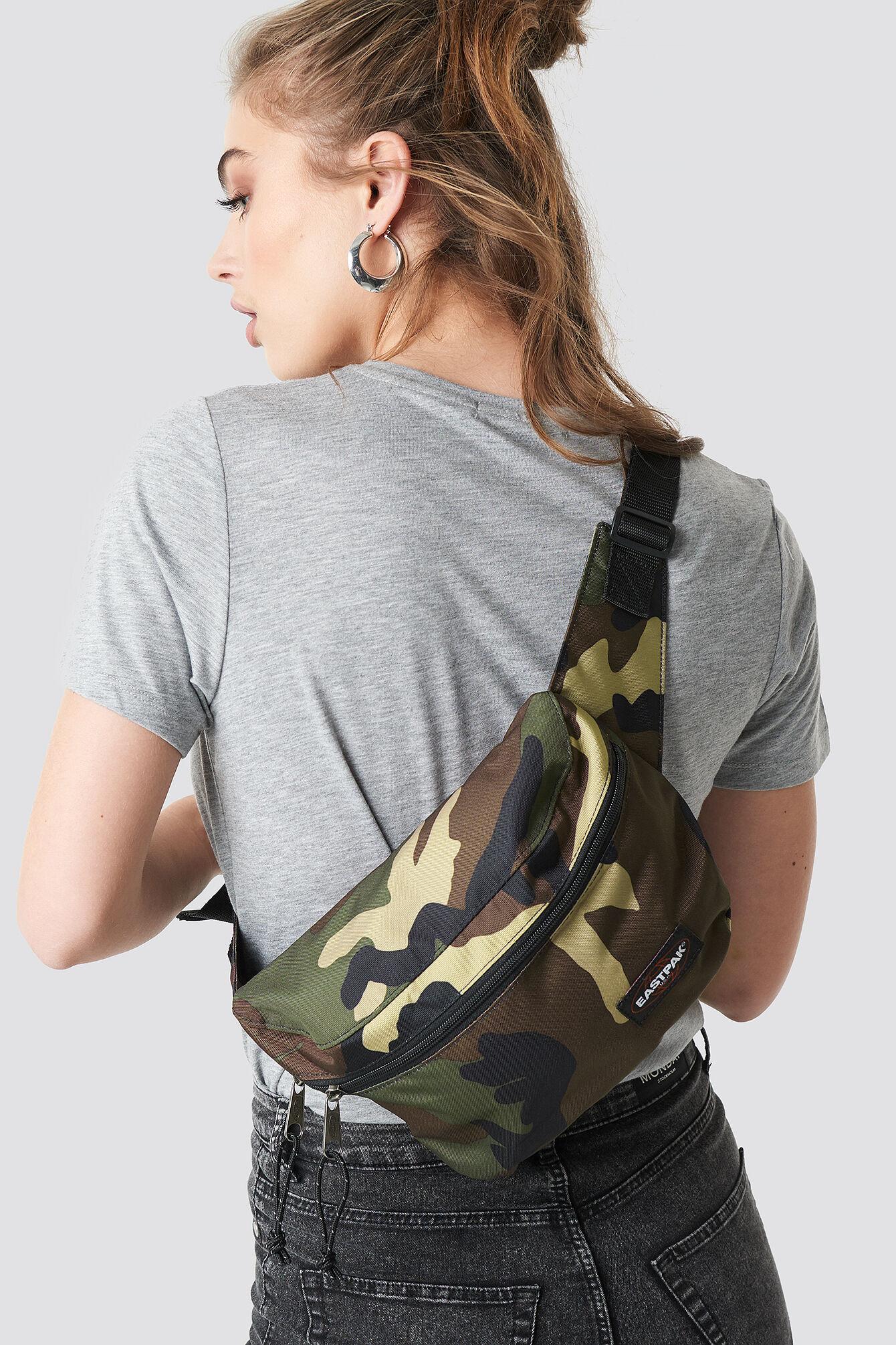 Eastpak Bane Bag - Brown,Green,Multicolor