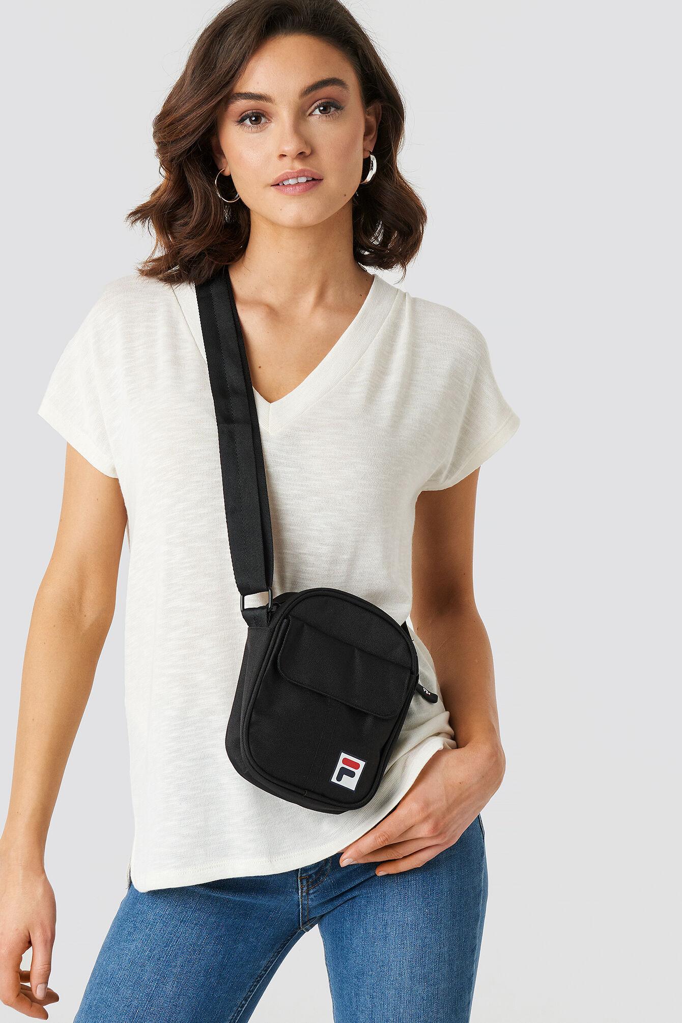 FILA Pusher Bag Milan - Black  - Size: One Size