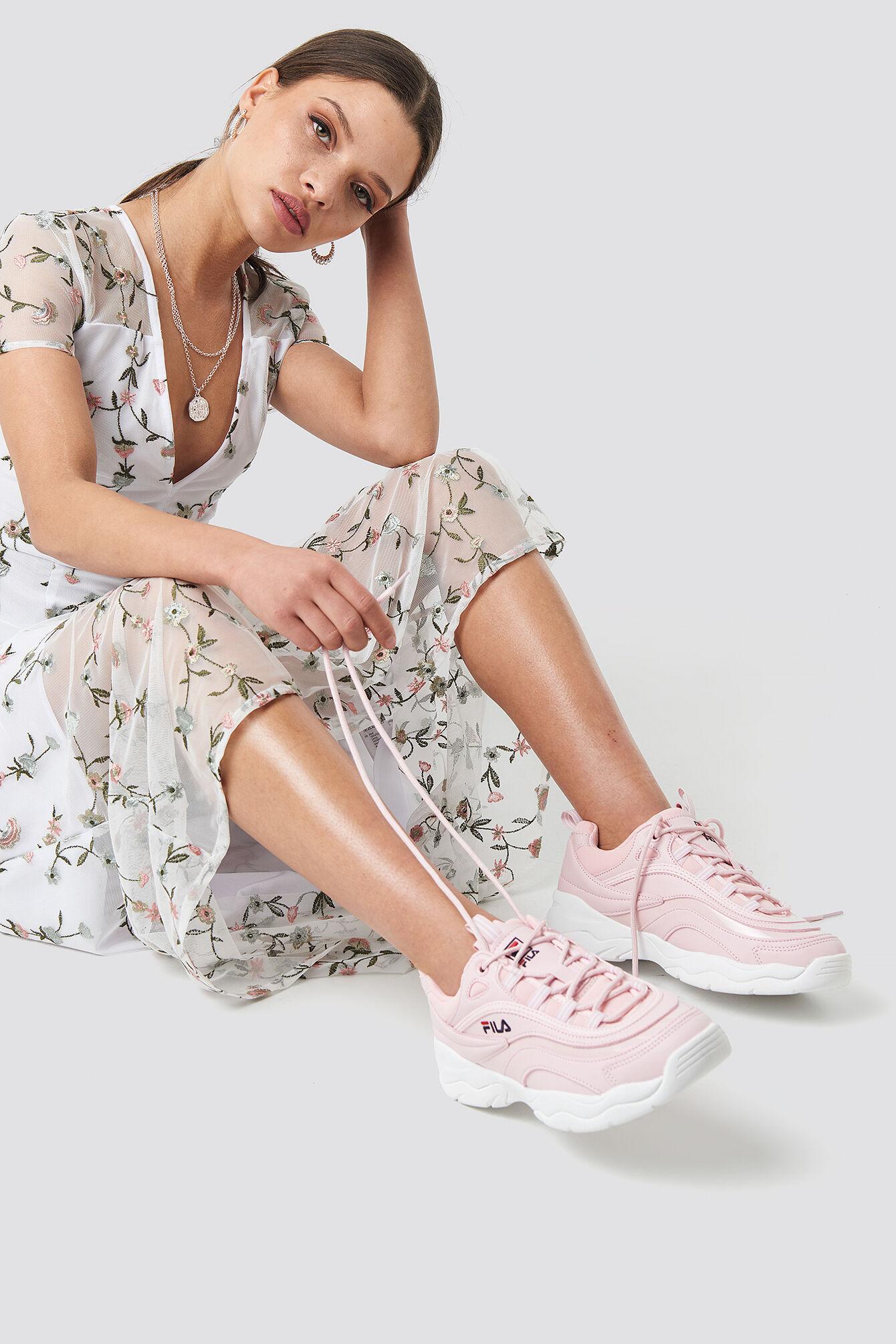 FILA Ray F Sneaker - Pink  - Size: EU 36,EU 37,EU 38,EU 39,EU 40,EU 41