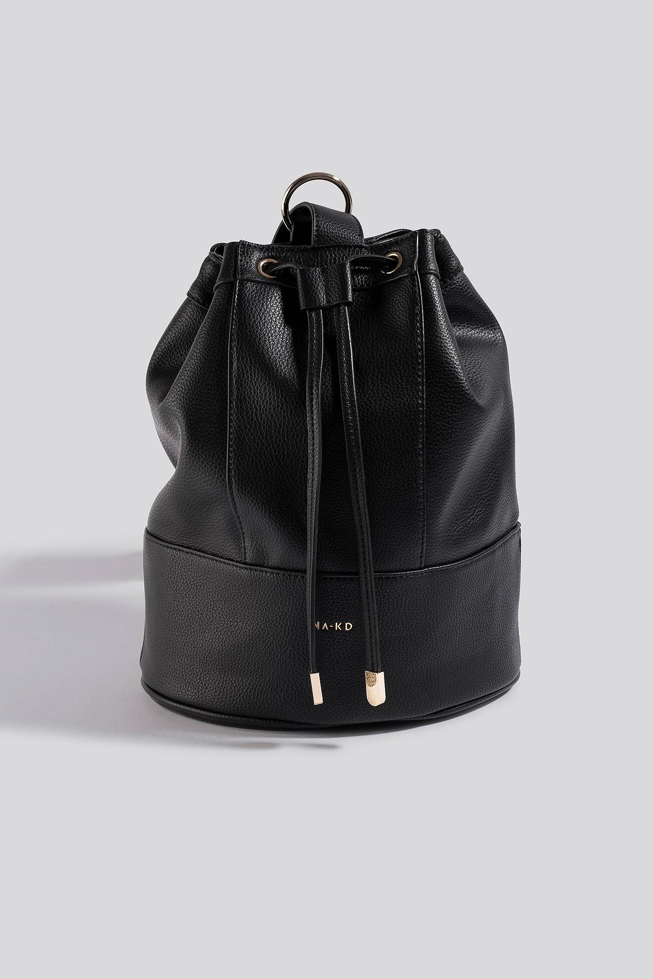 NA-KD Accessories One Strap Bucket Bag - Black  - Size: One Size