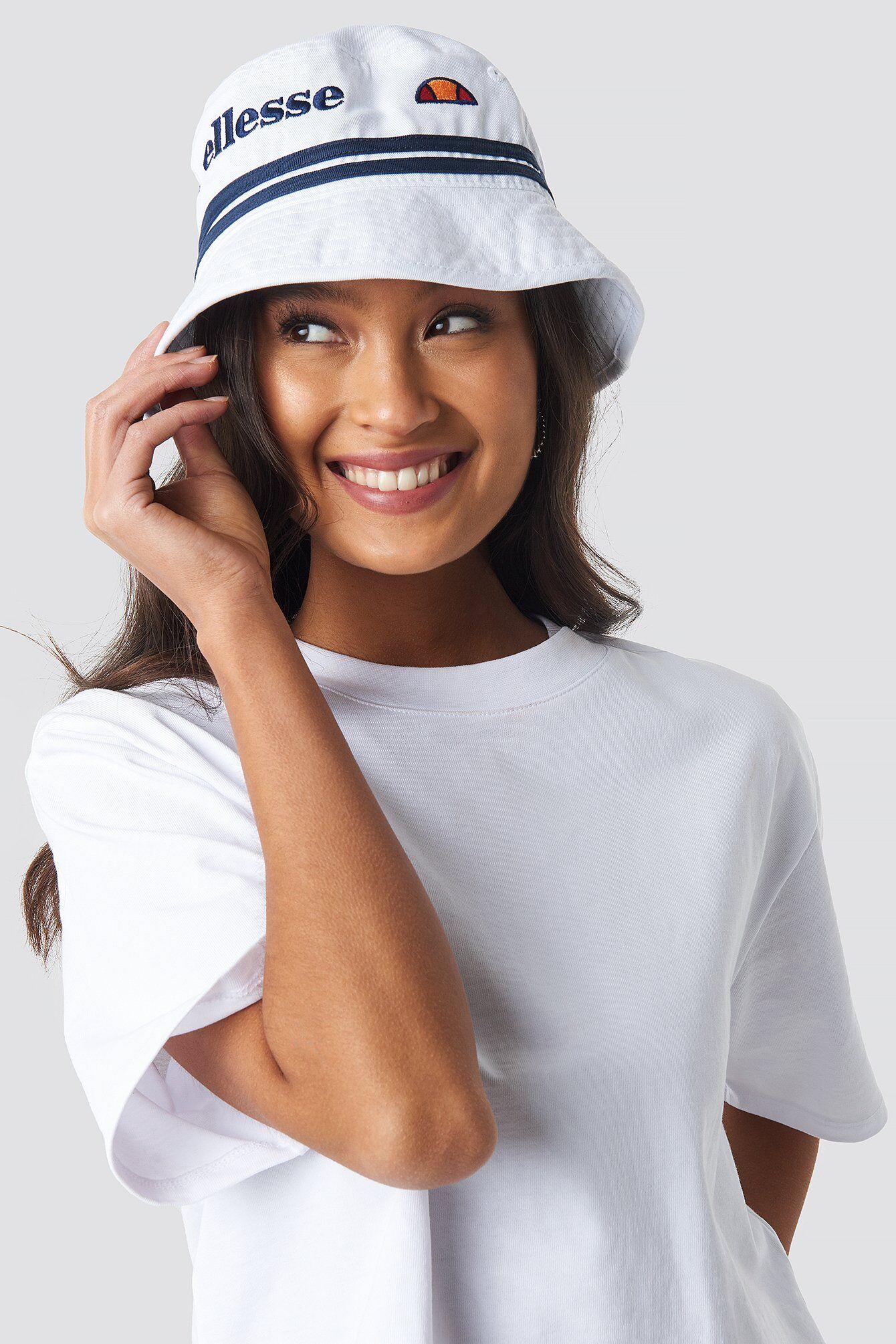 Ellesse El Lorenzo Bucket Hat - White