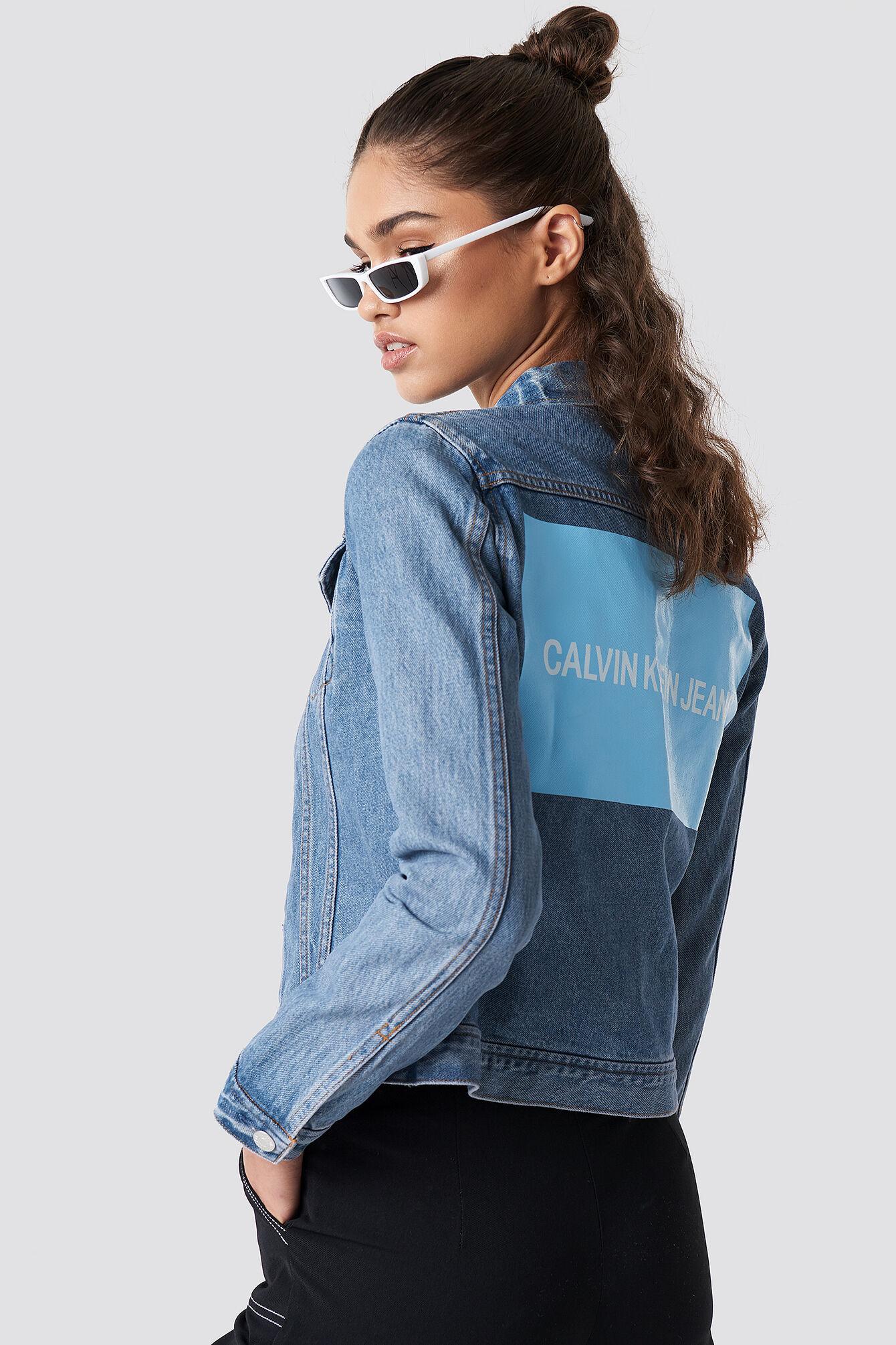Calvin Klein Clean Line Trucker - Blue