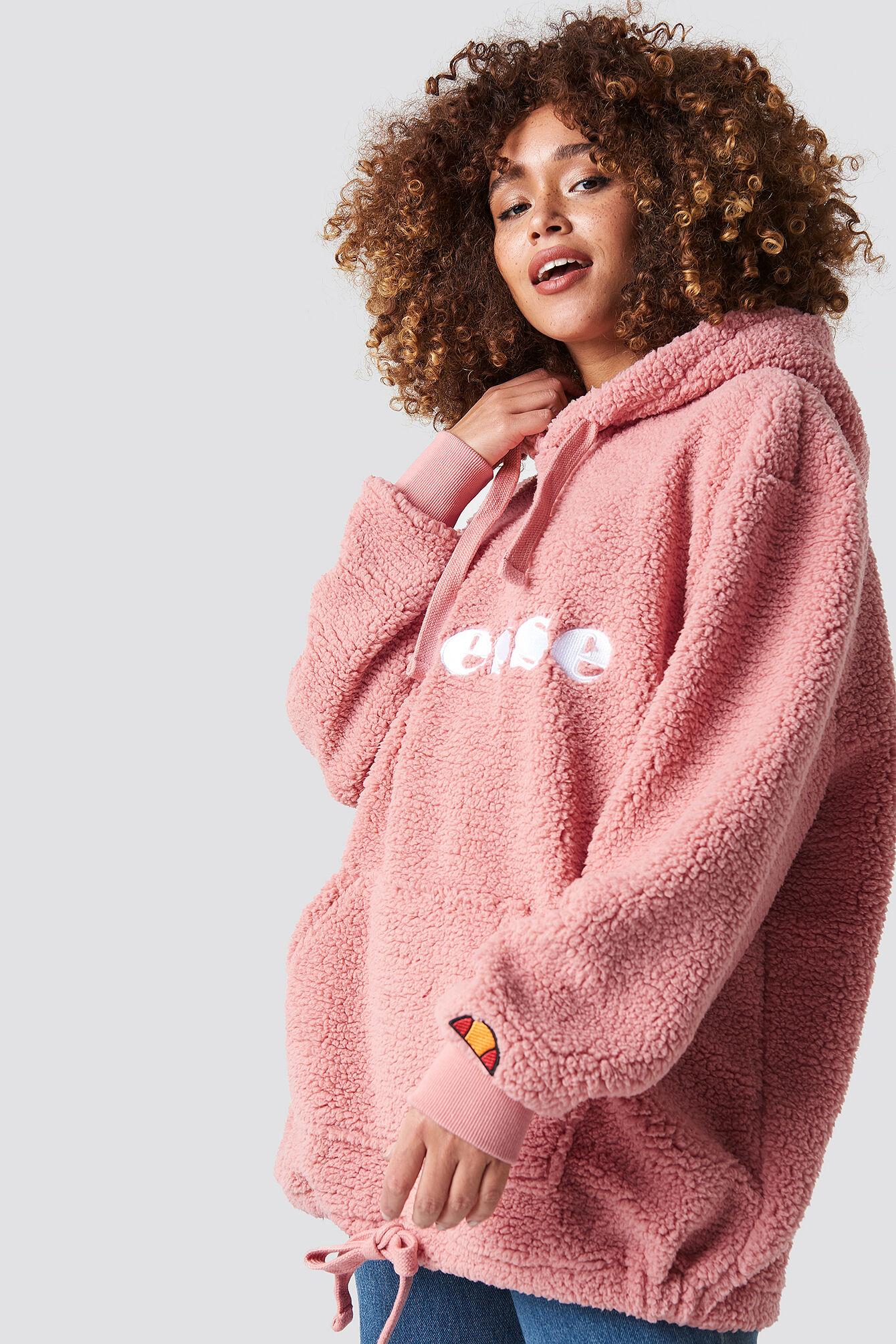 Ellesse El Grattini Hoodie - Pink