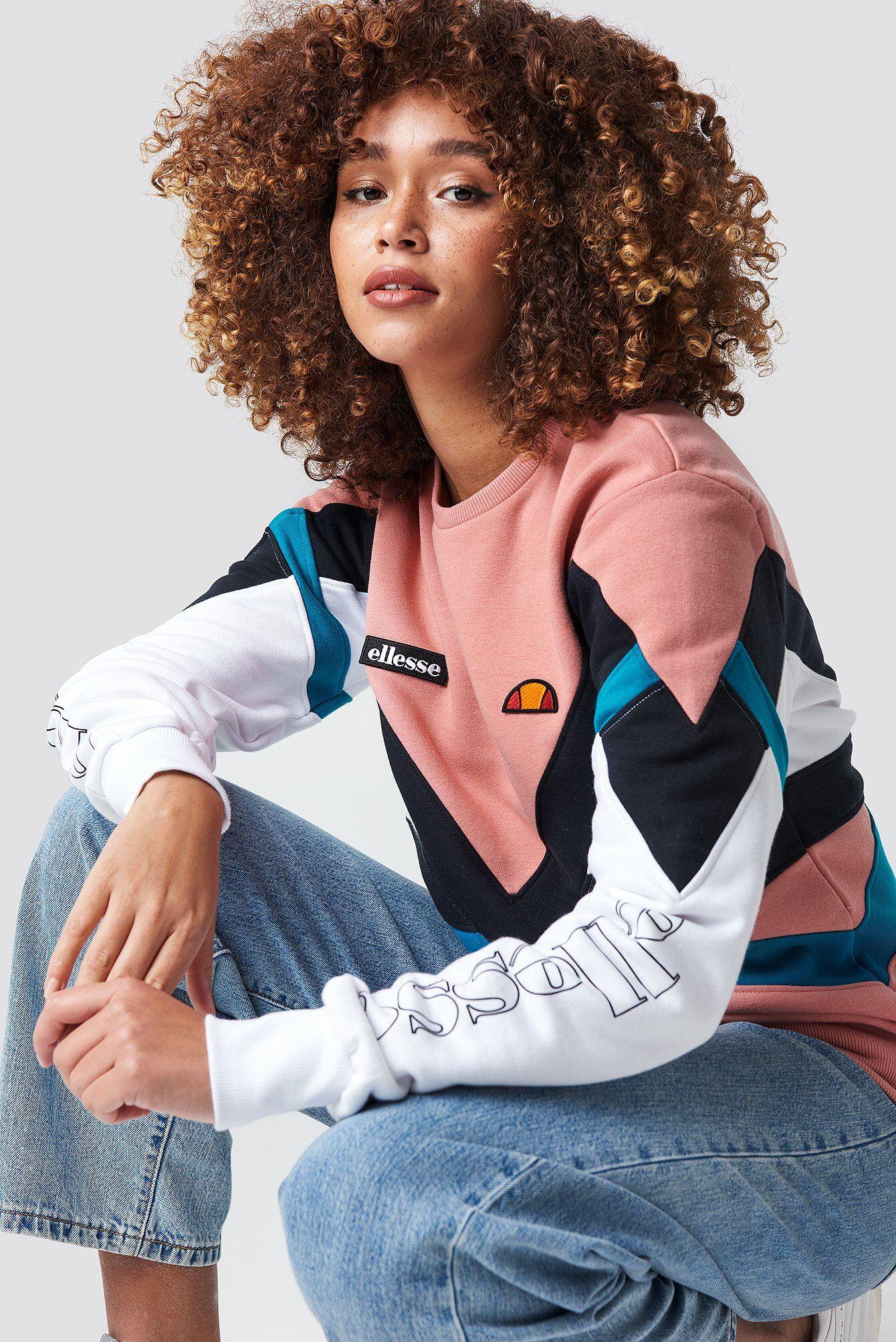 Ellesse El Robiola Sweatshirt - Pink,Multicolor