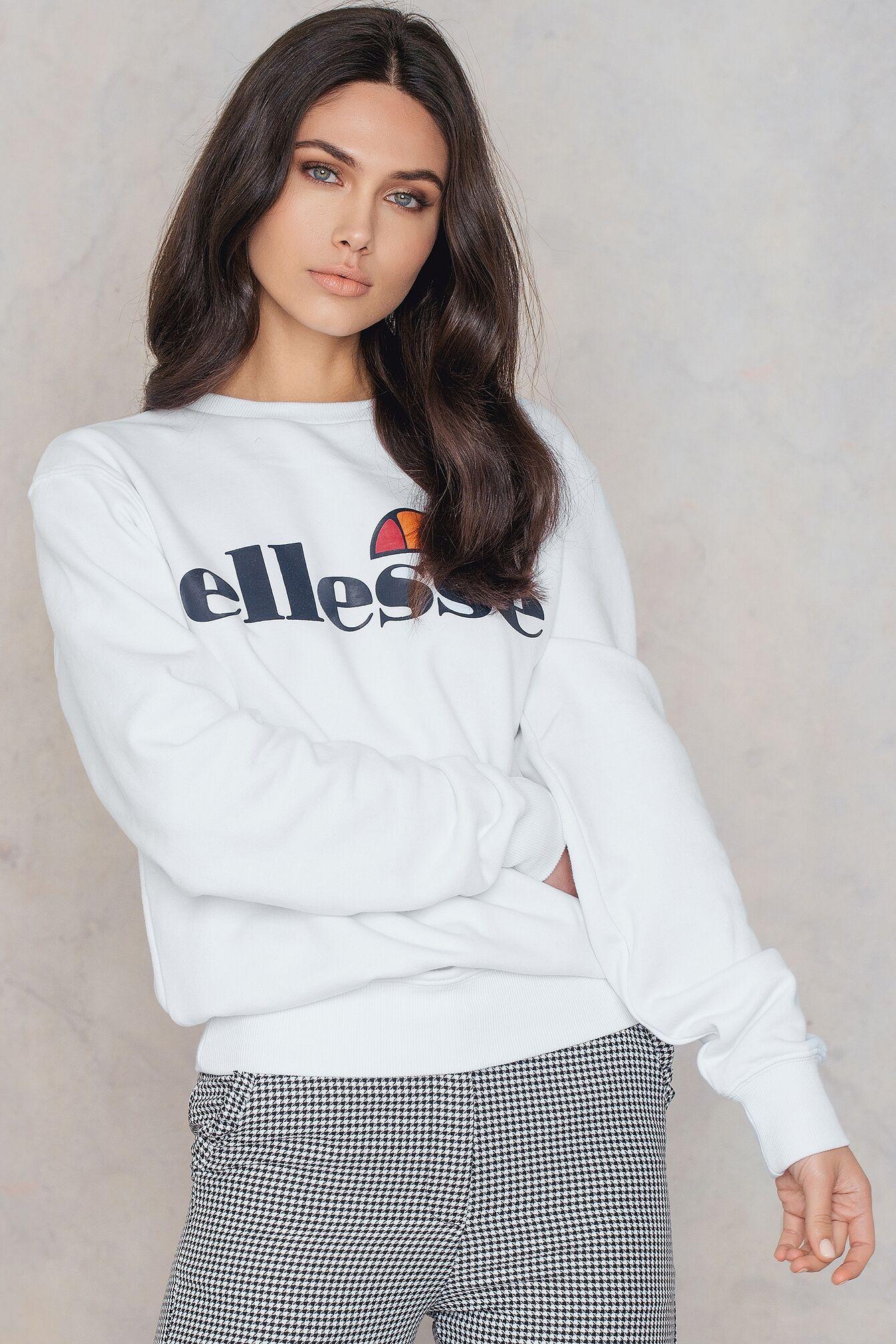 Ellesse El Agata Sweatshirt - White