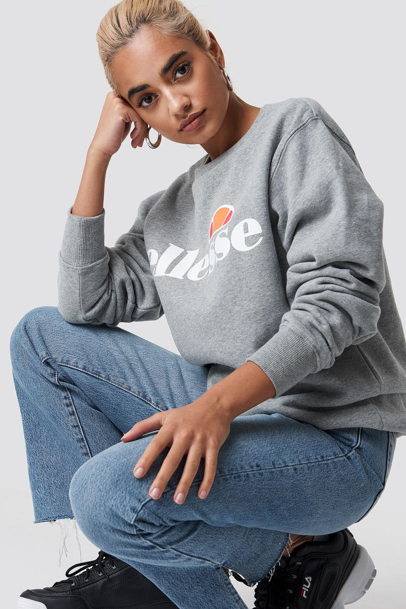 Ellesse El Agata Sweatshirt - Grey