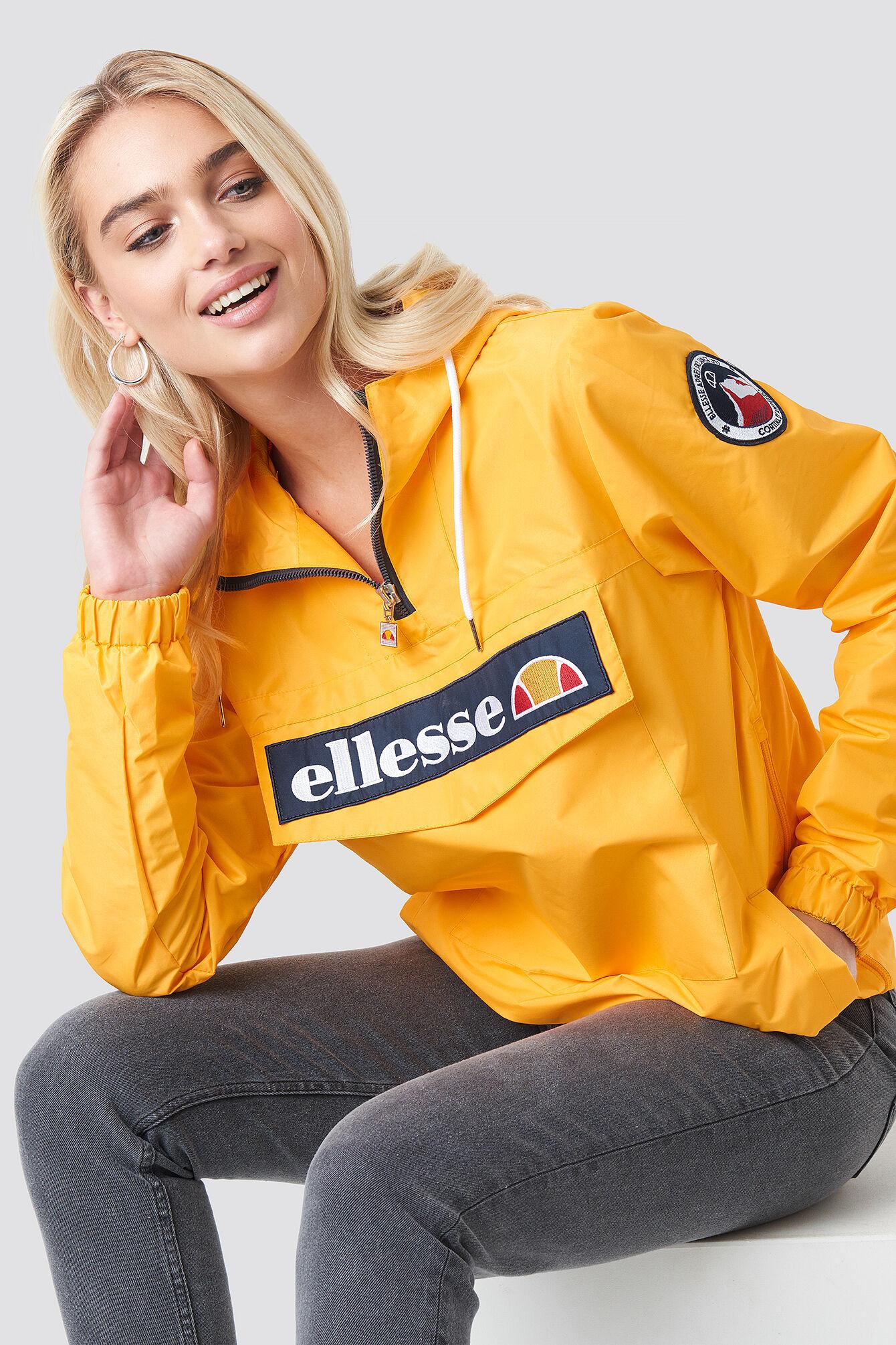 Ellesse El Mont 2 Half Zip Jacket - Yellow