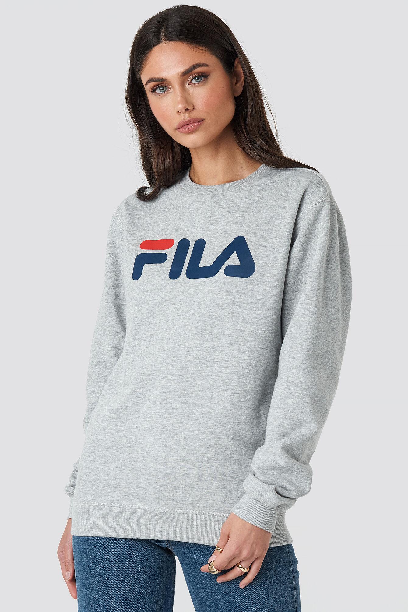 FILA Classic Pure Crew Sweat - Grey