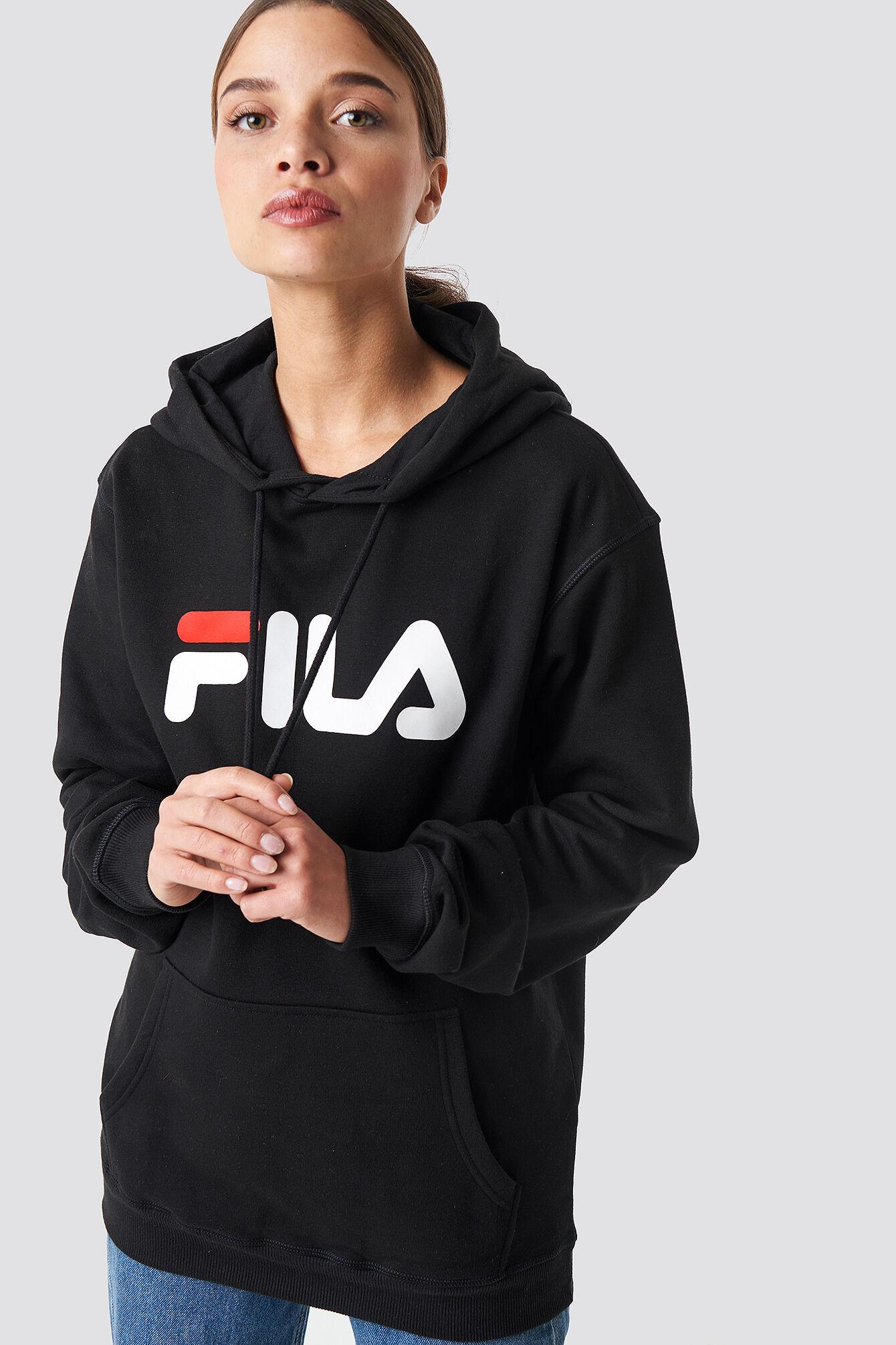 FILA Classic Pure Hoody Kangaroo - Black