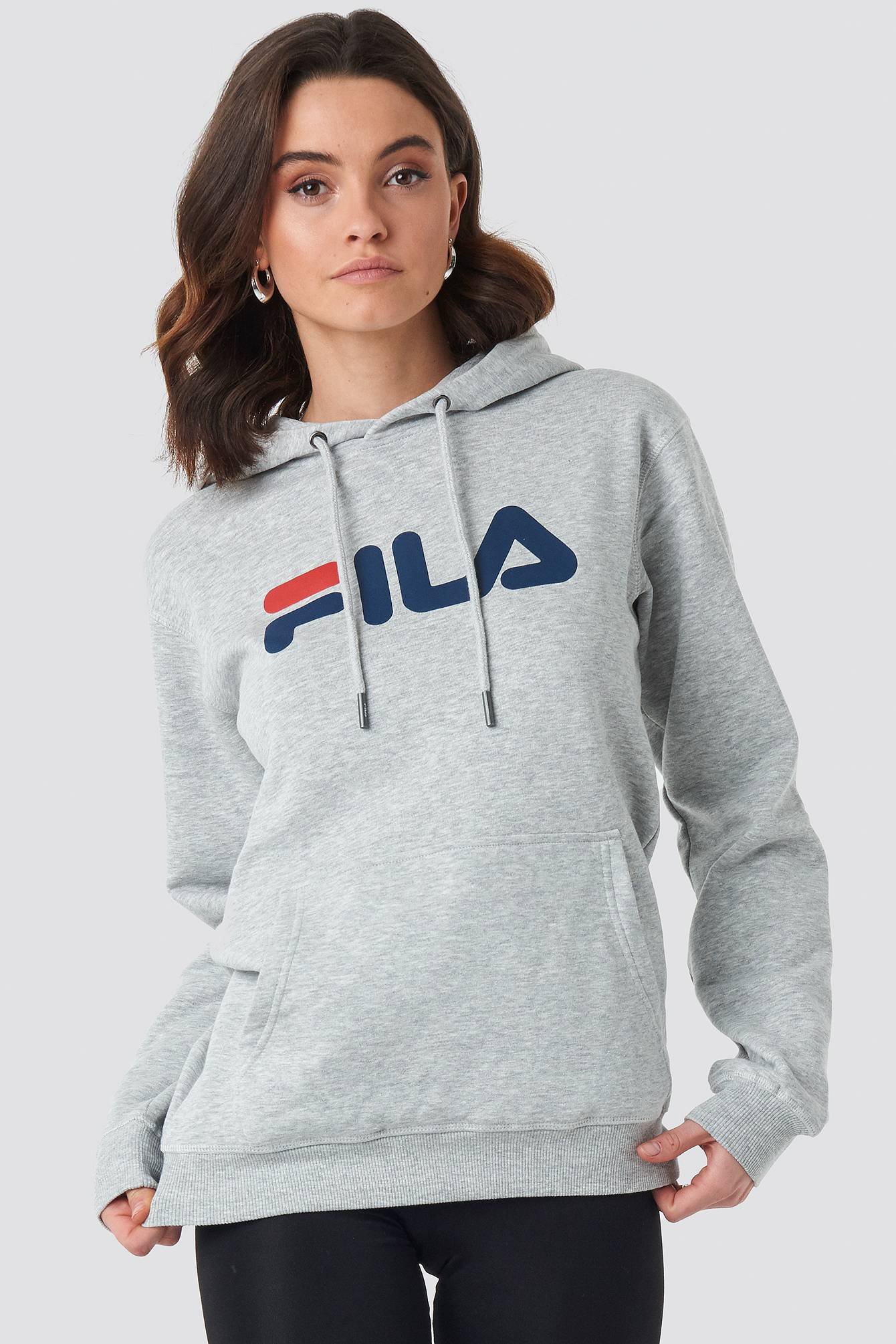 FILA Classic Pure Hoody Kangaroo - Grey