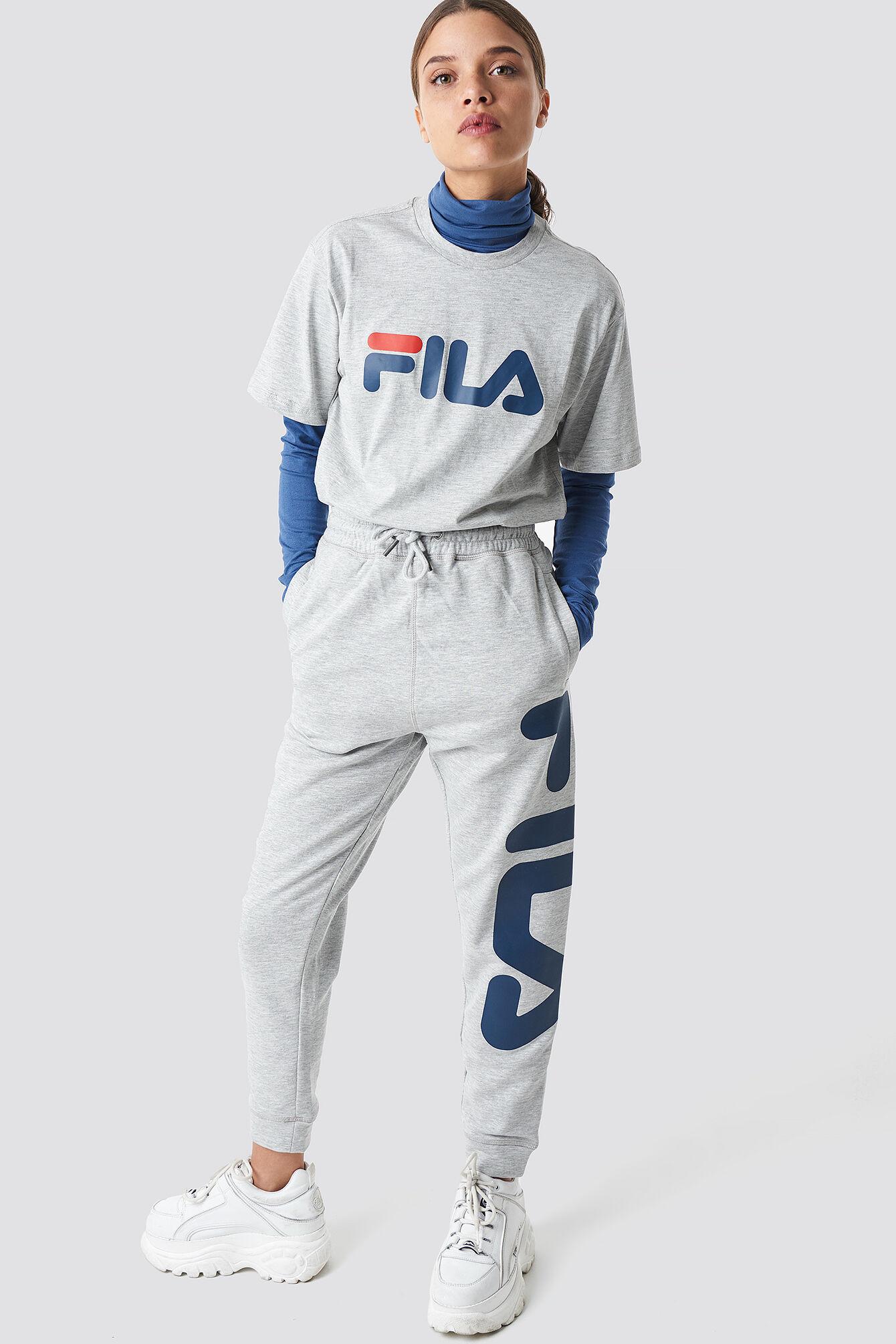 FILA Classic Pure Pants - Grey  - Size: Small