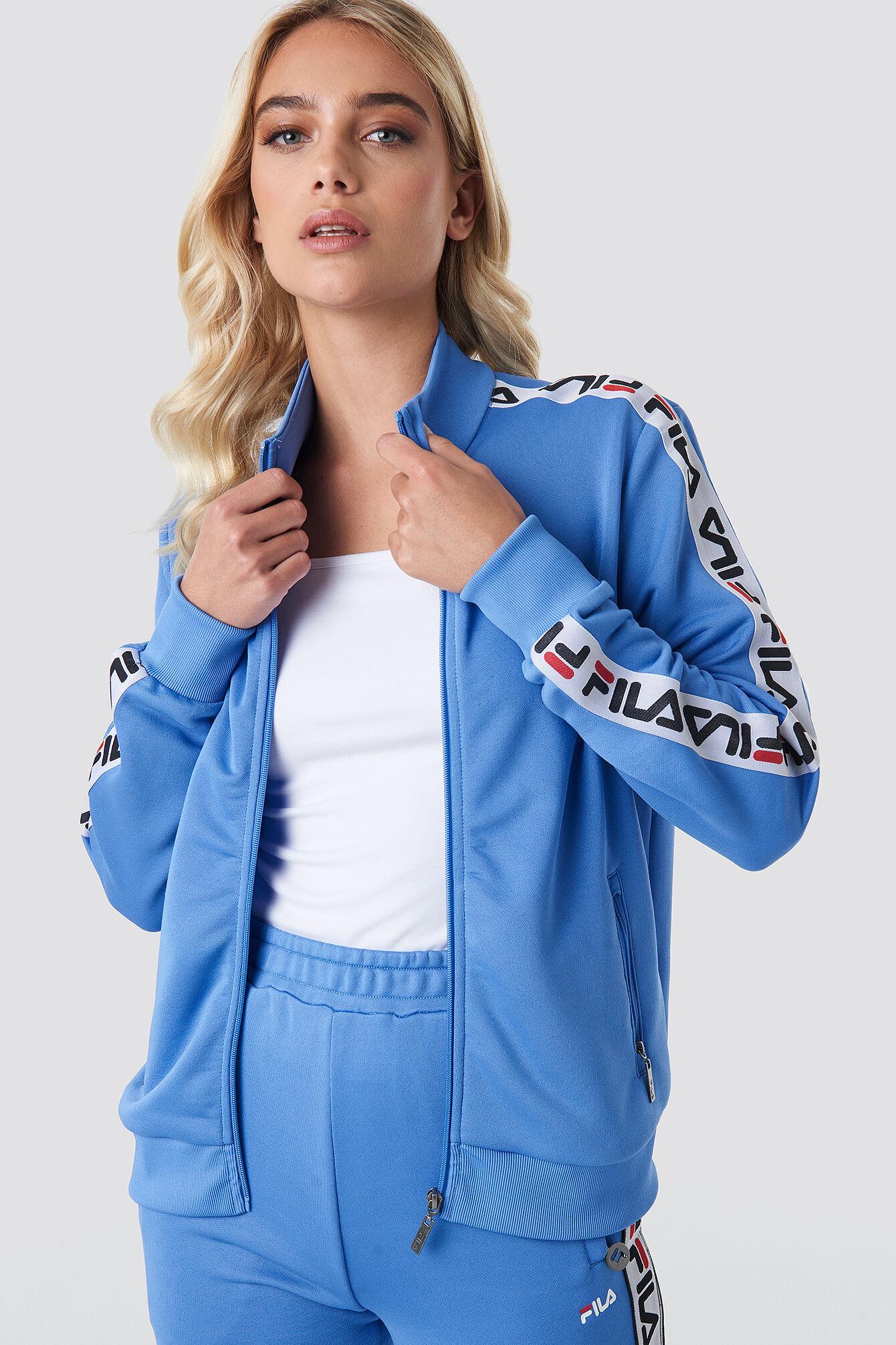 FILA Talli Track Jacket - Blue  - Size: Small