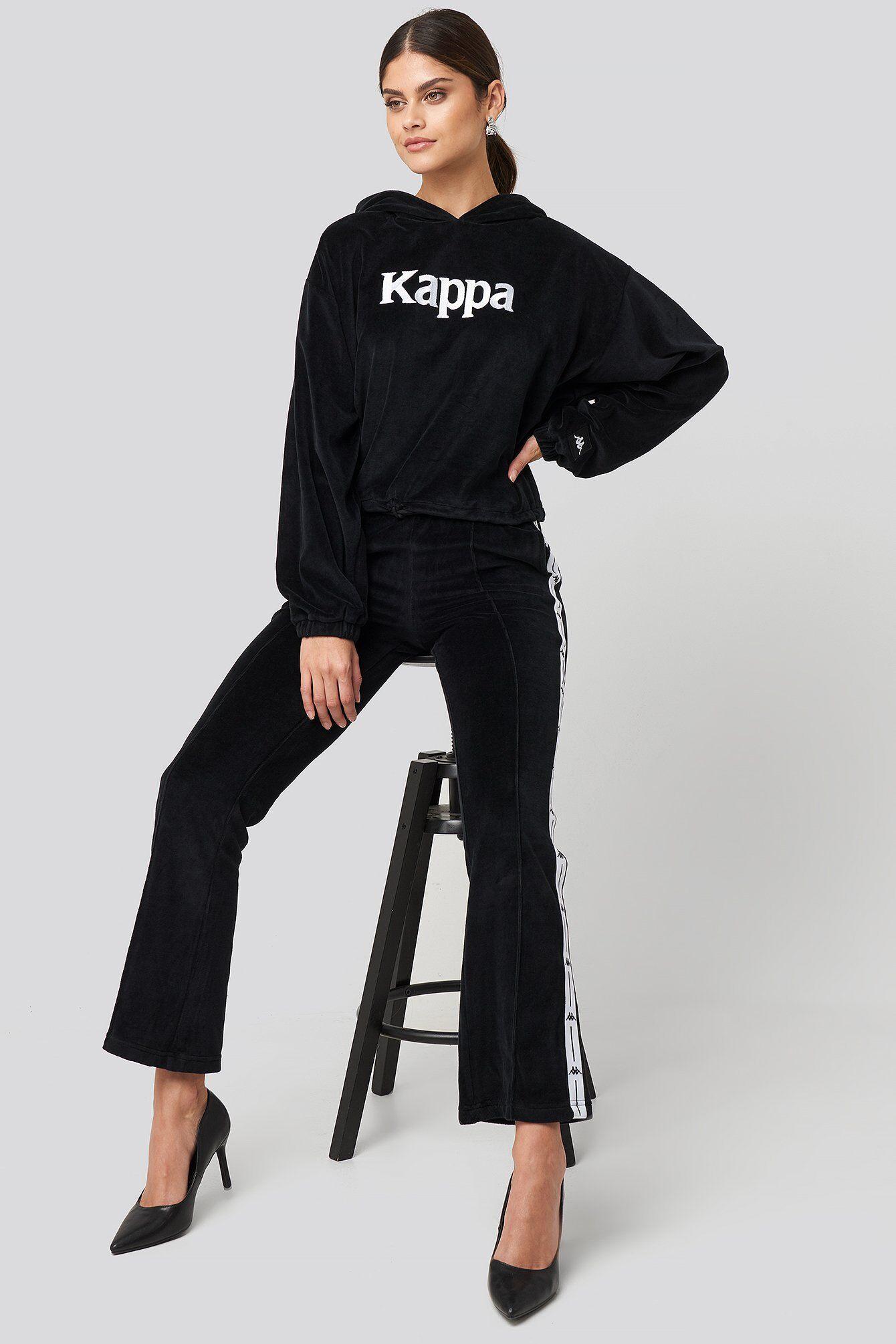 Kappa Barav Pants - Black  - Size: Small