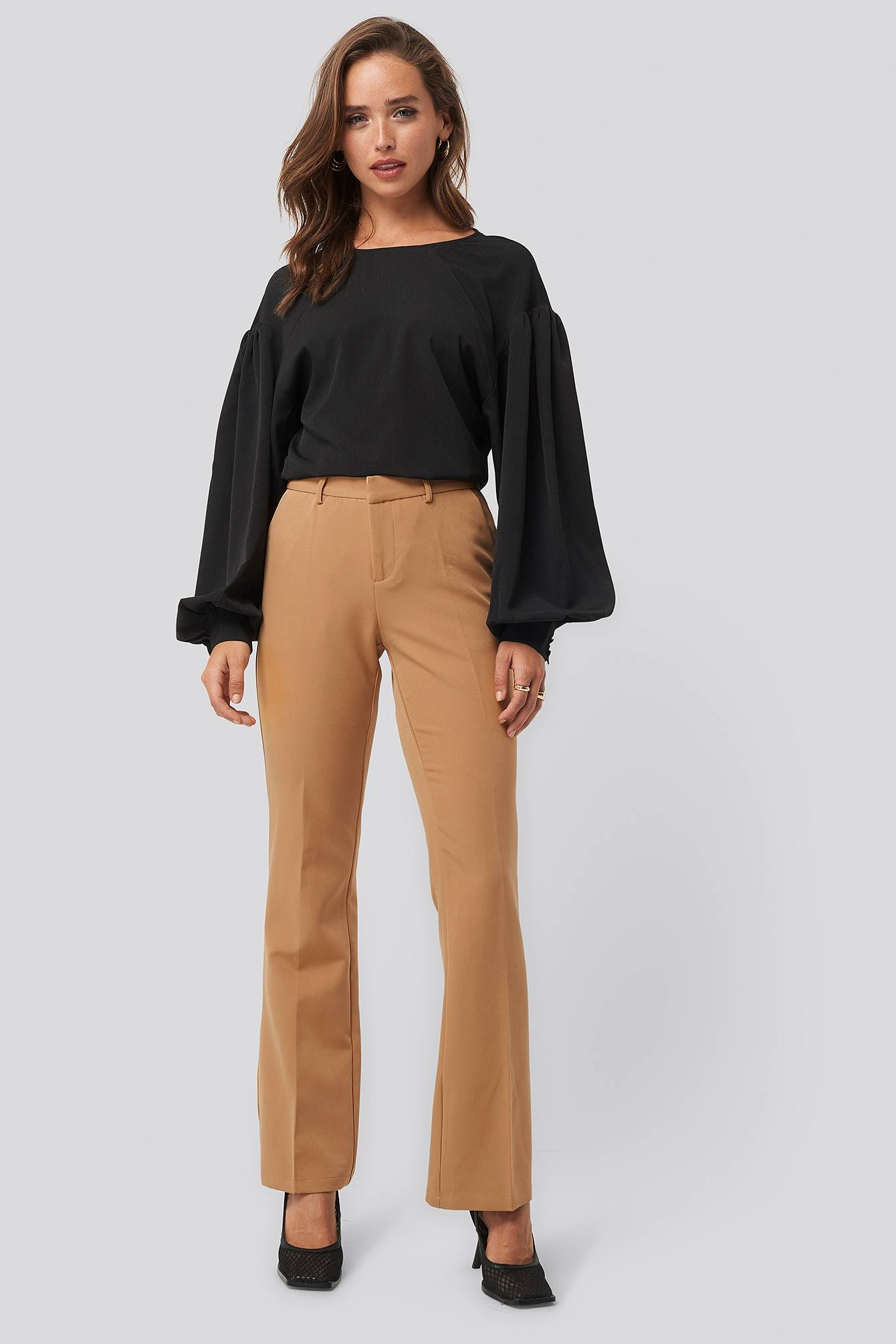 Sisters Point Veka Pants - Brown  - Size: Small
