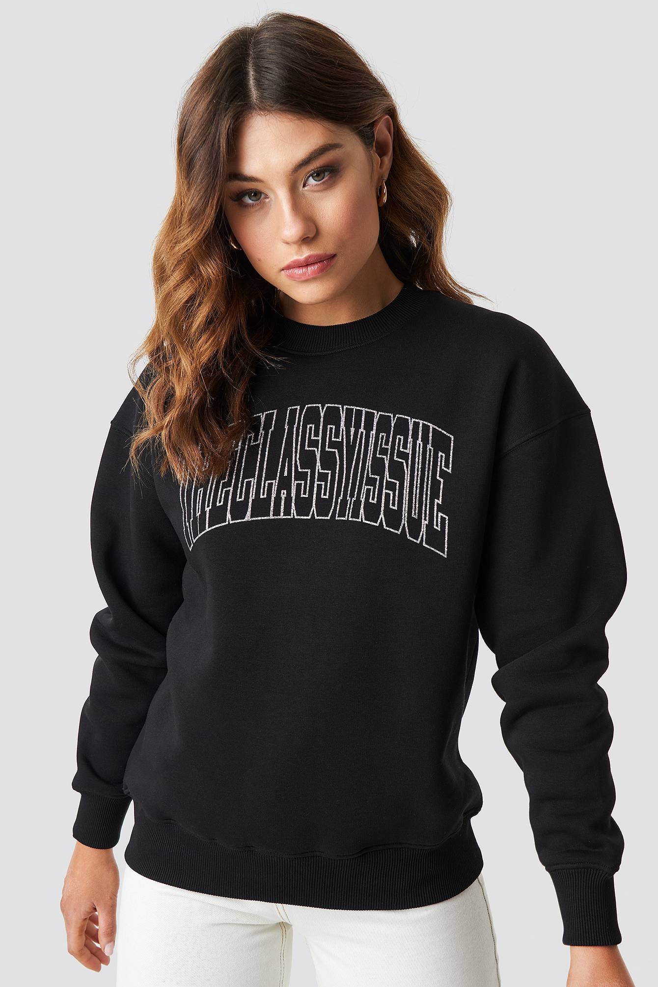 The Classy Issue Midnight Sweater - Black