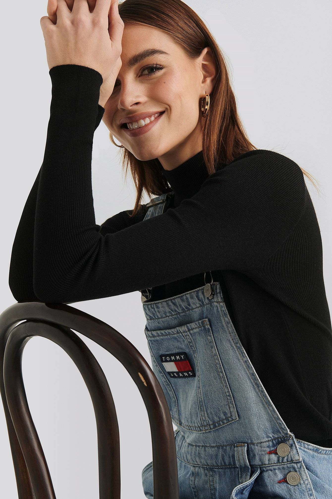 Tommy Jeans New Dungaree Denim 90S Light - Blue  - Size: W24 L30,W25 L30,W26 L30,W27 L30,W28 L30,W29 L30,W