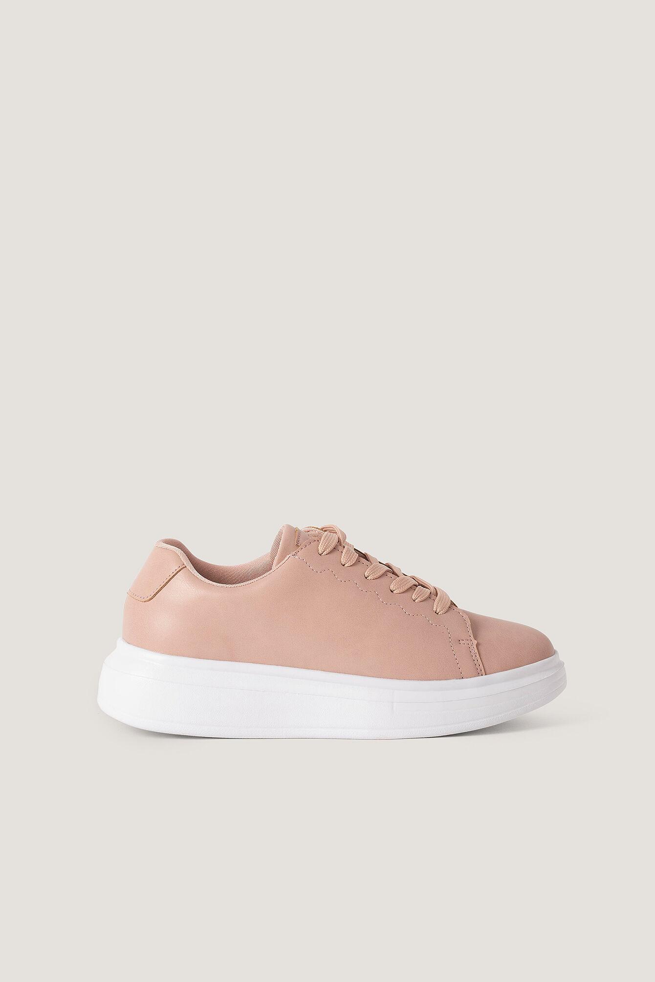 NA-KD Shoes Basic Court Trainers - Pink  - Size: EU 36,EU 37,EU 38,EU 39,EU 40,EU 41