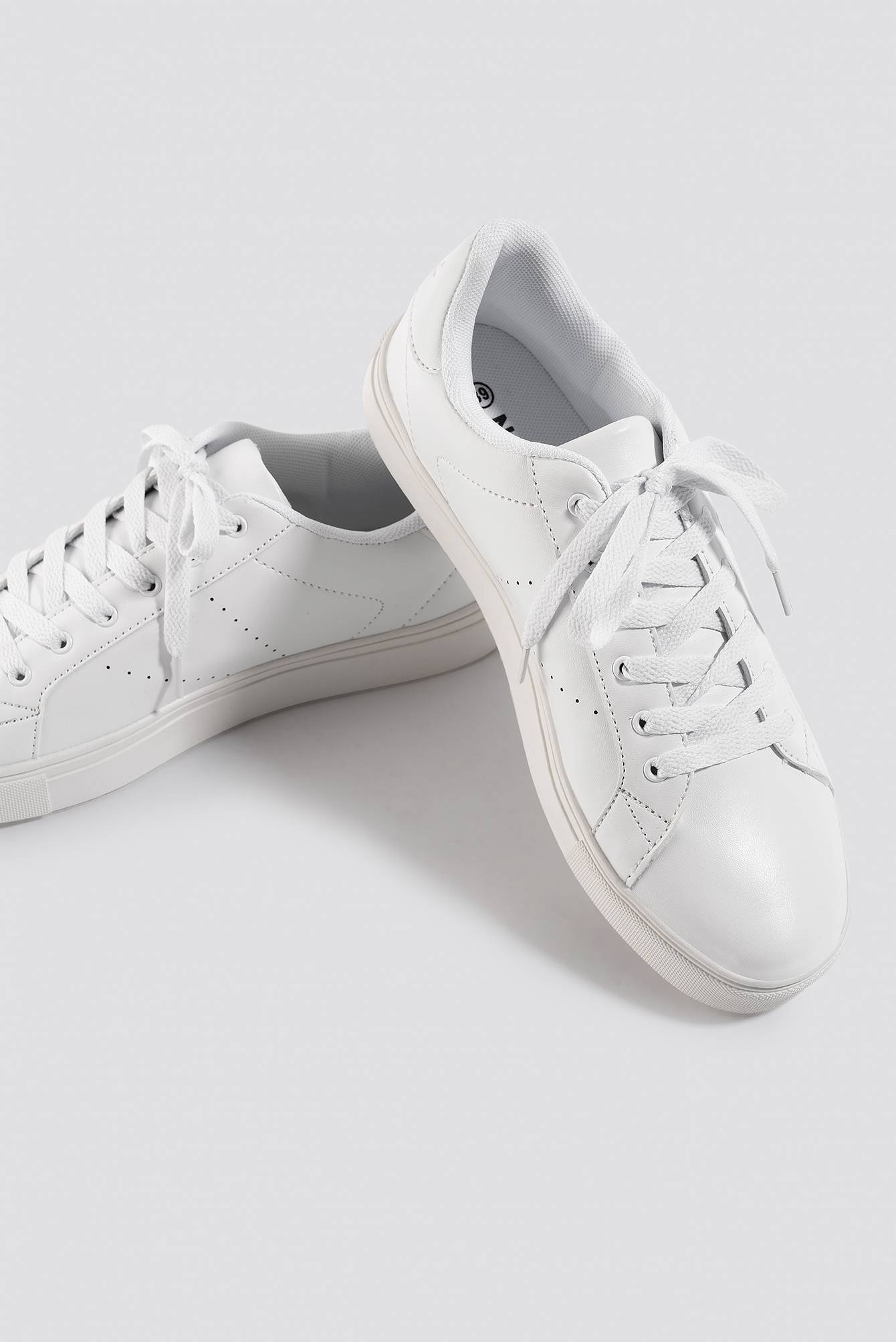 NA-KD Shoes Basic Trainers - White