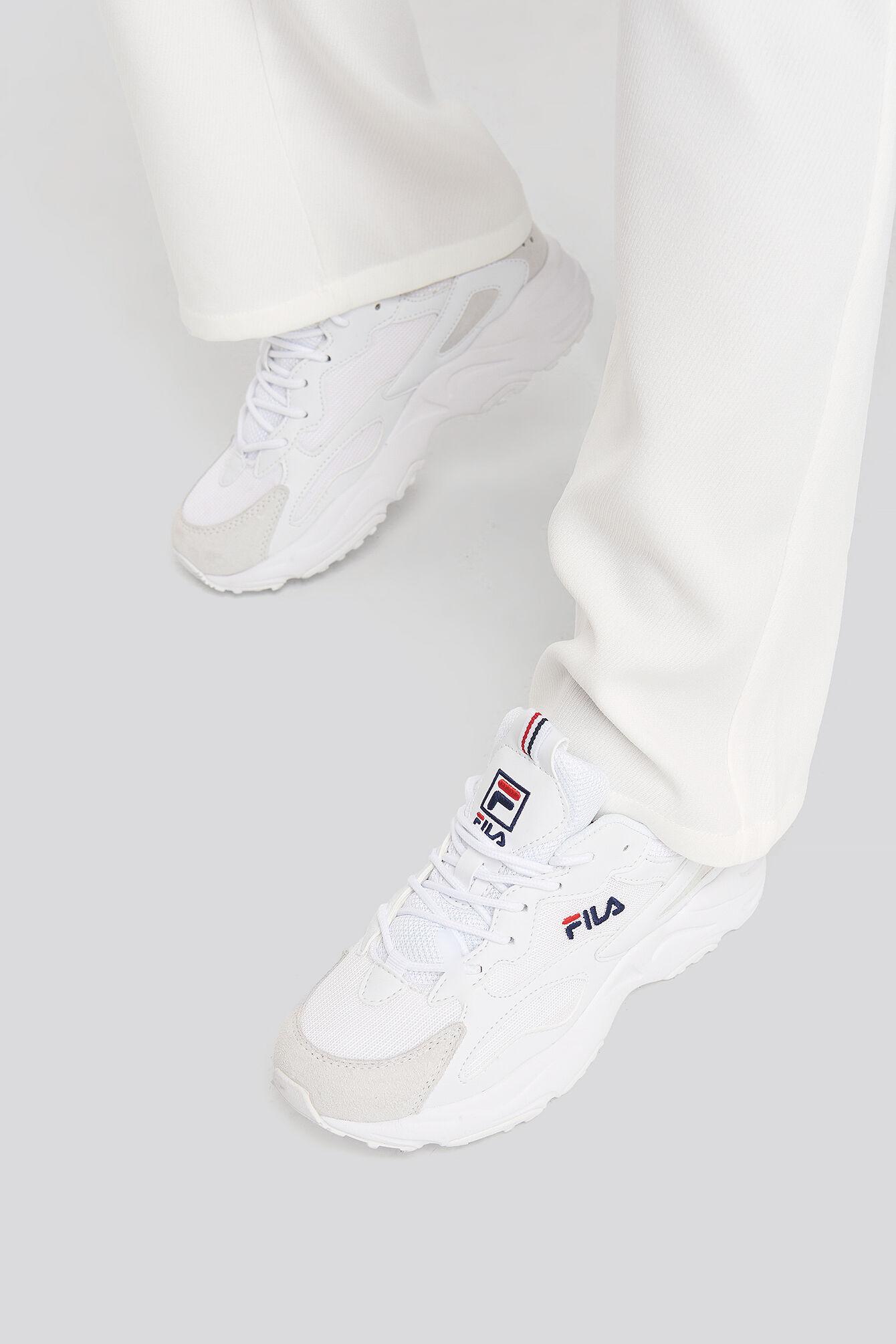 FILA Ray Tracer Wmn Sneaker - White  - Size: EU 36,EU 37,EU 38,EU 39,EU 40,EU 41