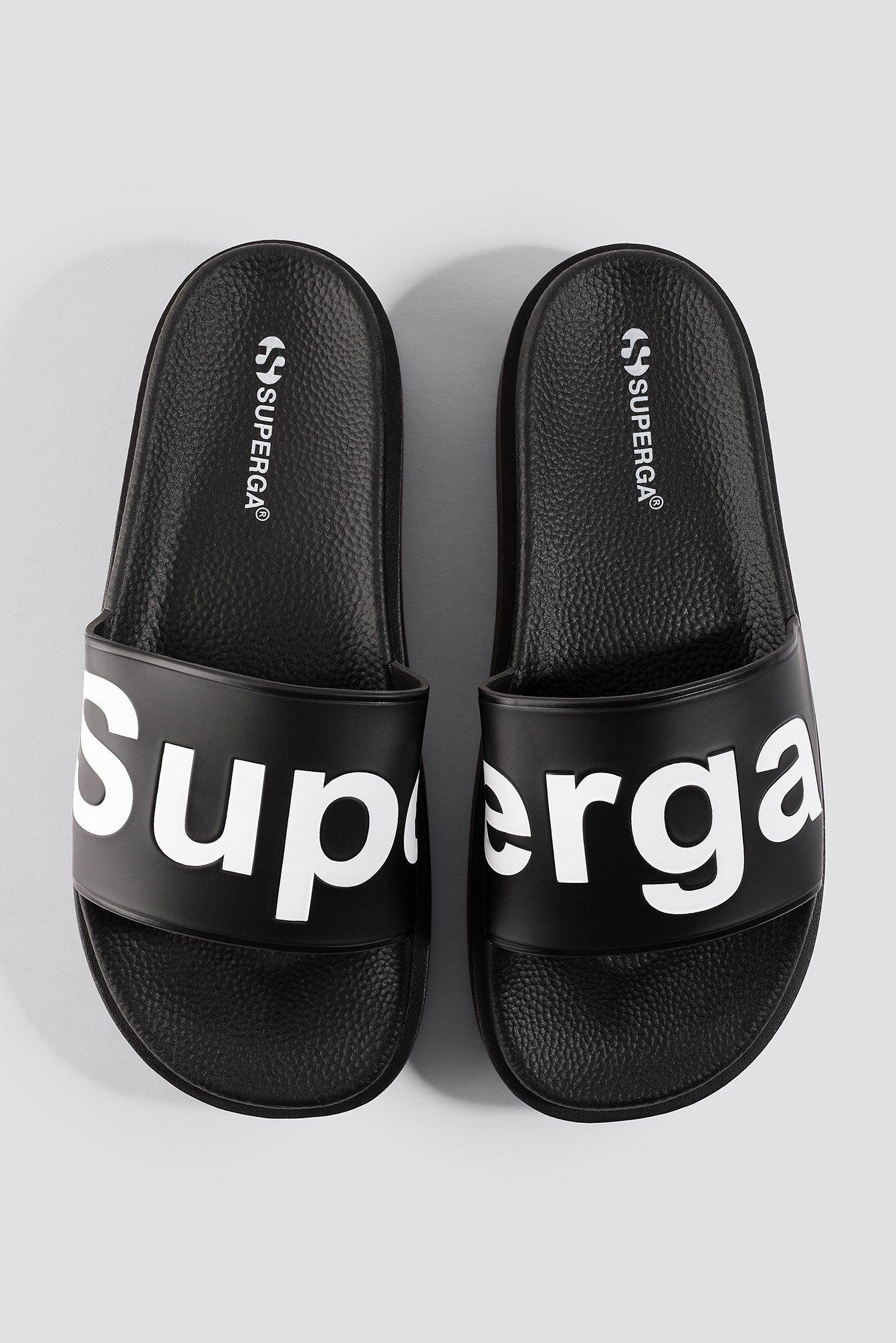 Superga Puw 1919 Slipper - Black