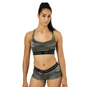 Better Bodies Athlete Short Top, camoprint, small