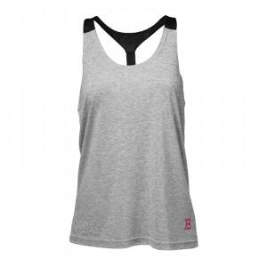Better Bodies Loose Fit Tank, grey melange, small