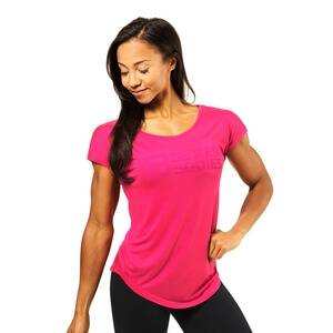 Better Bodies Gracie Tee, hot pink, large