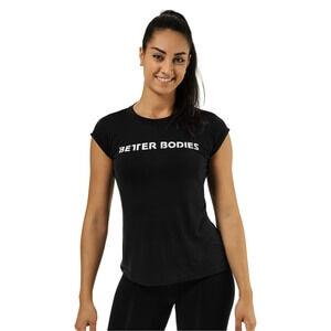 Better Bodies Astoria Tee, black, medium