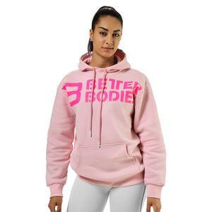 Better Bodies Chrystie Hoodie, pale pink, medium