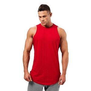 Better Bodies Harlem Tank, bright red, xxlarge