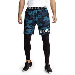 Björn Borg August Shorts, BB maxi camo blue, small