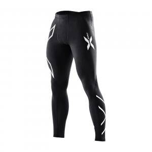2XU Compression Tights, black/silver, small tall