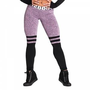 Nebbia Over The Knee Tights, purple, Nebbia