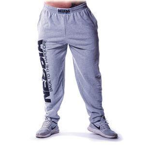 Nebbia Hardcore Fitness Sweatpants, grey, M