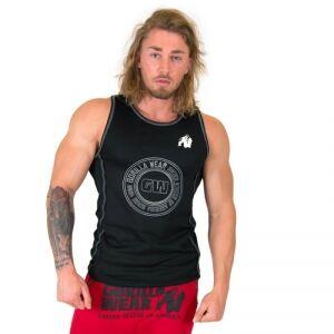 Gorilla Wear Men Kenwood Tank Top, black/silver, medium